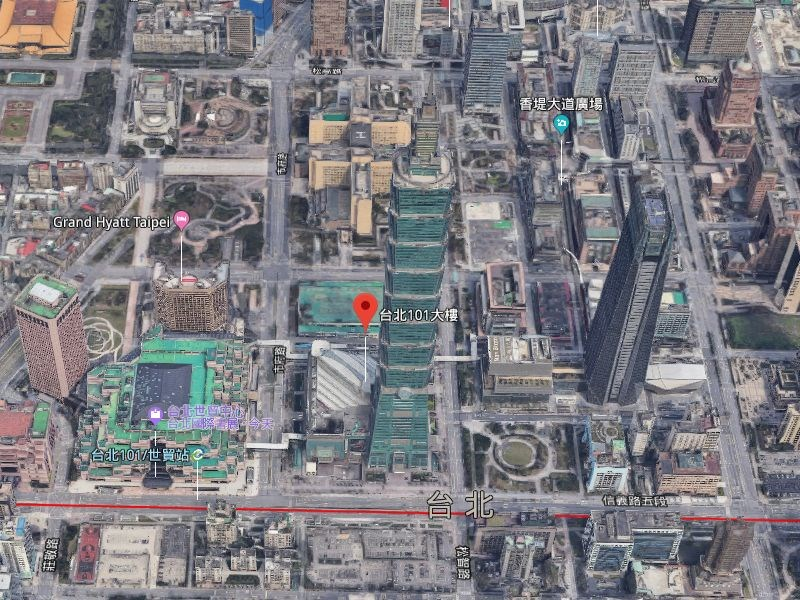Google23日證實,Google地圖3D影像將在台灣下架。(圖取自Google地圖網頁www.google.com/maps)