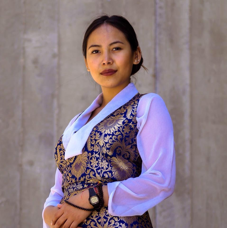 加拿大多倫多大學士嘉堡分校選出支持藏獨的學生會新會長拉莫,引起部分中國留學生連署抵制。(圖取自facebook.com/ChemiLhamo)