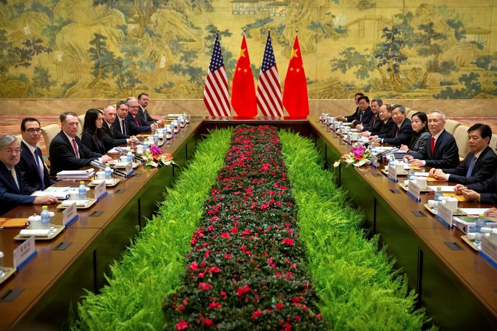 美國和中國官員在北京的貿易談判15日結束,雙方計畫本週在華府再進行協商。(檔案照片/路透社提供)