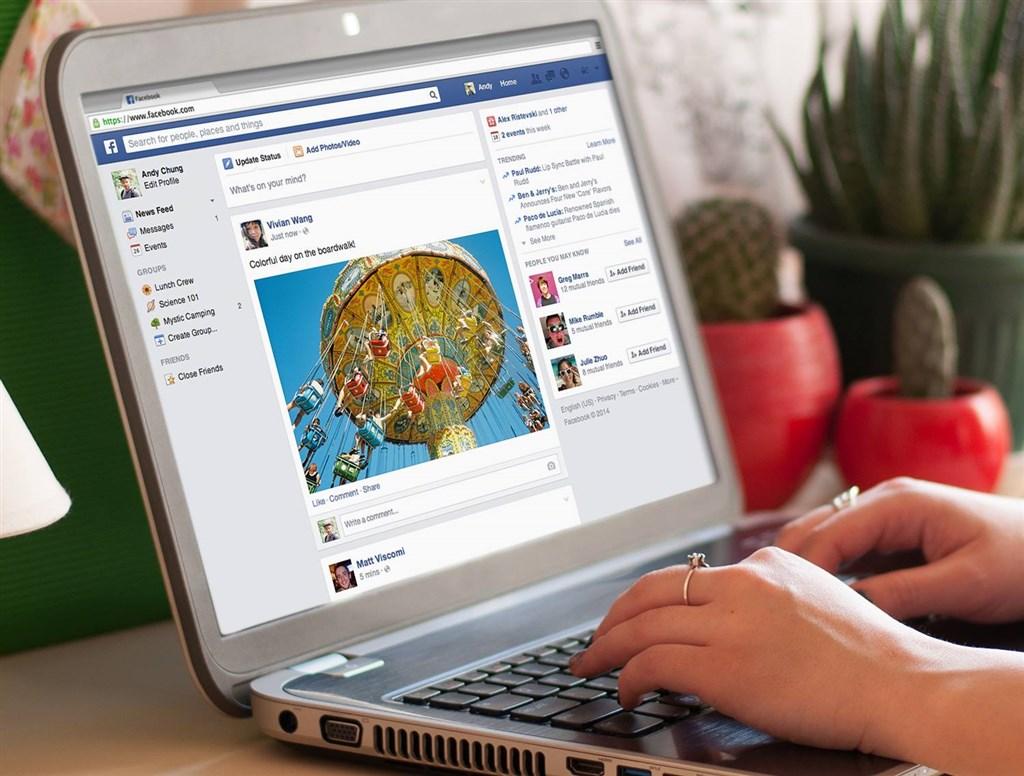 華爾街日報報導,除了註冊Facebook的用戶,臉書也能從眾多第三方應用程式蒐集個資。(圖取自facebook.com/facebook)