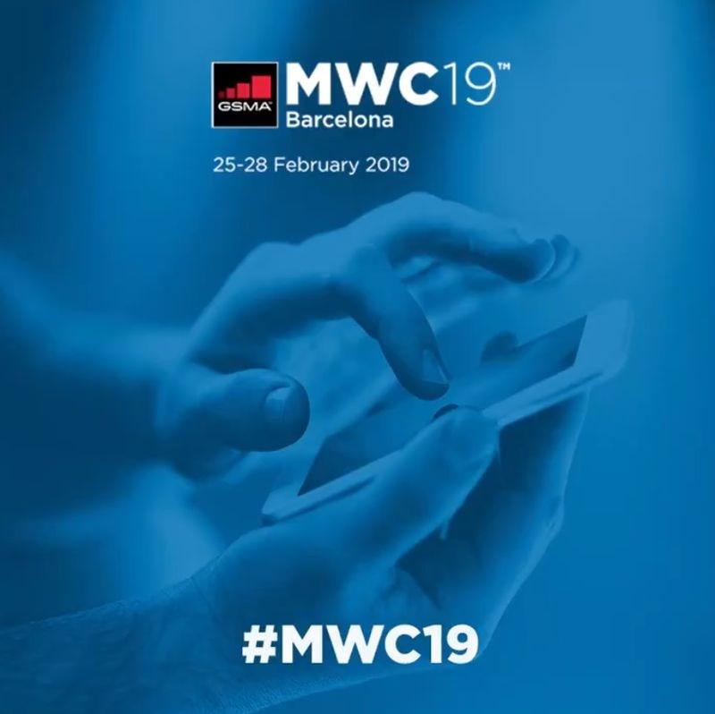 全球行動通訊大會(MWC)25日登場,市場預期焦點在摺疊手機,5G通訊及擴增實境/虛擬實境等新科技應用。(圖取自twitter.com/gsma)