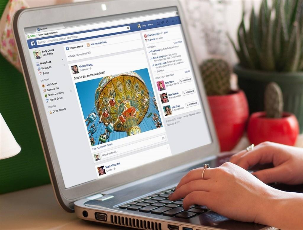 資安業者認為,用臉書帳號快速登入網站和應用程式可能帶來3大風險。(圖取自facebook.com/facebook)