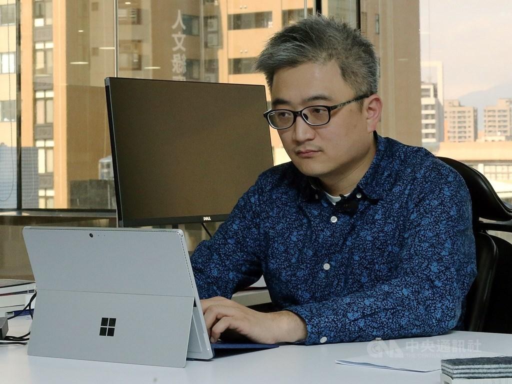 面對無孔不入的中國網路監控,PTT創辦人杜奕瑾表示,自我保護最好的方法,是選擇能信任的設備提供者、資料平台以及合作夥伴。(中央社檔案照片)