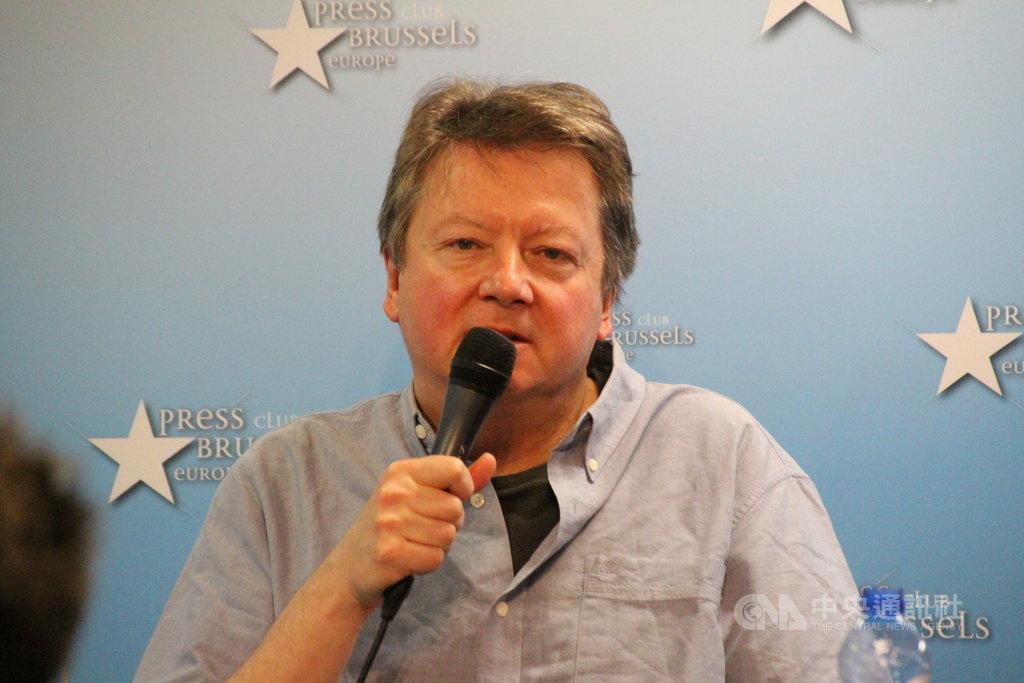 捷克中國議題專家馬定和(Martin Hala)3月6日表示,中國透過政治操作影響西方,籲西歐國家覺醒提出對策。中央社記者唐佩君布魯塞爾攝 108年3月7日