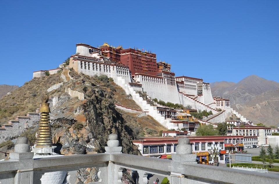 圖為西藏布達拉宮。(圖取自Pixabay圖庫)