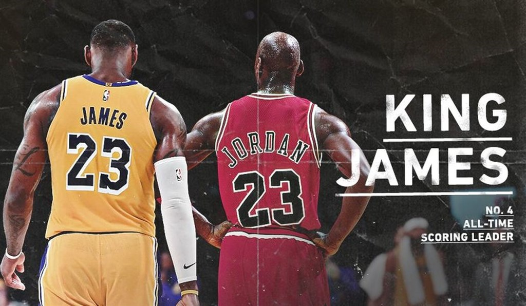 NBA/力挺詹皇!前隊友提數據 推翻喬丹最偉大球員說法  - GamblePlus