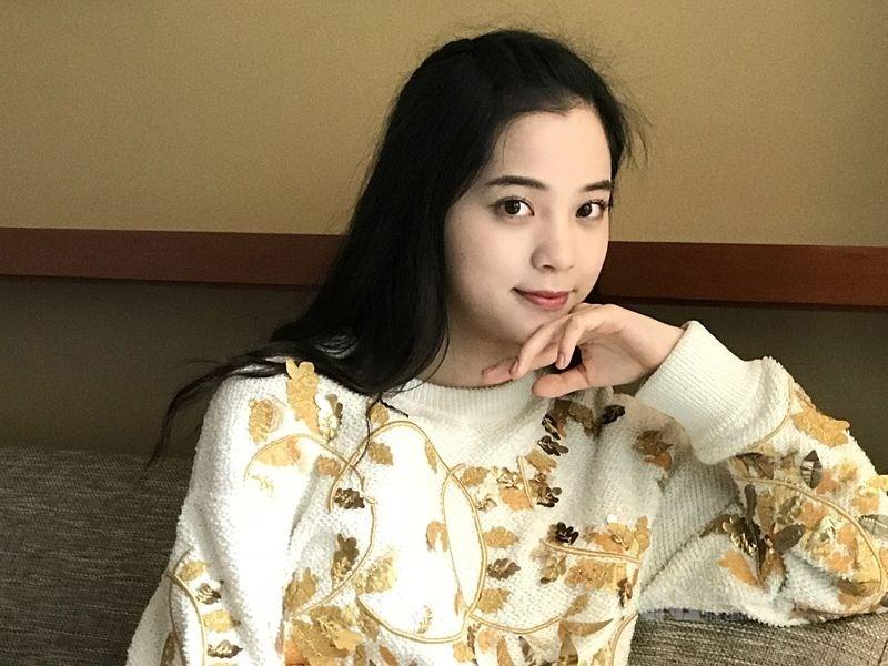 國民黨發言人歐陽龍女兒歐陽娜娜(圖)遭中國網民質疑支持台獨。(中央社檔案照片)