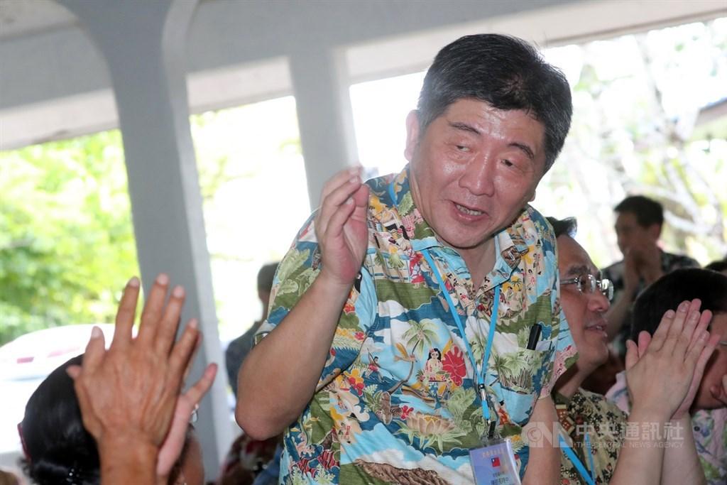 傳出WHO(世界衛生組織)指稱如果沒有「兩岸諒解」,不用期待台灣會取得WHA(世界衛生大會)入場券;衛福部長陳時中22日表示,不應該用政治手段打壓健康事務。中央社記者吳家昇攝 108年3月22日