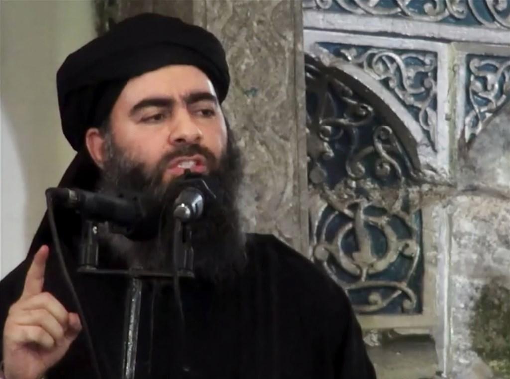 現年47歲的伊斯蘭國首腦巴格達迪曾多次傳出受傷及死訊。(檔案照片/美聯社提供)