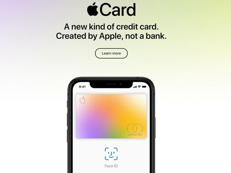 蘋果26日宣布,與高盛銀行、master card合作推出Apple Card,結合蘋果的Apple Pay、Apple Map、Apple Wallet和生物辨識技術等功能。(圖取自蘋果公司網頁apple.com)