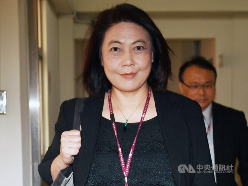 詹婷怡就任NCC主委2年多,近來因假新聞爭議被批評處理不當,成為第一位任期未滿而主動請辭的主委。(中央社檔案照片)