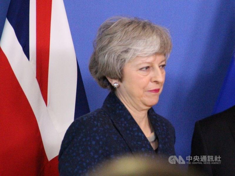 英國首相梅伊5日致函歐盟,要求將脫歐期限延後到6月30日。但歐盟領導層堅持認為,她須先展現可行計畫,以保她的脫歐協議在陷入僵局的國會取得共識。(中央社檔案照片)