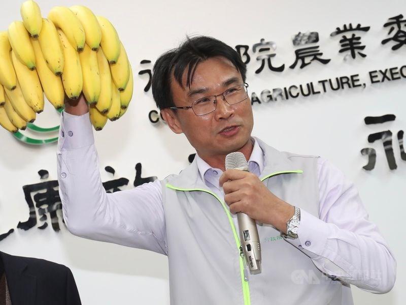 農委會主委陳吉仲6日表示,希望大家支持農委會的農貿政策,因為台灣農產品應該要走向全世界的市場。(中央社檔案照片)