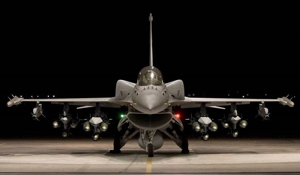 圖為F-16V戰機。(圖取自洛克希德馬丁公司網頁lockheedmartin.com)
