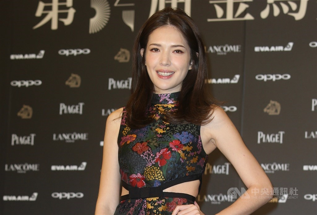 演員許瑋甯在IG按讚一篇寫道「阿六仔」的貼文,引發中國網友不滿並質疑她是台獨。(中央社檔案照片)