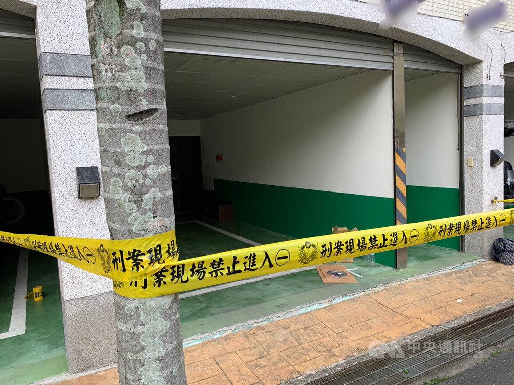 新北市中和區一間汽車旅館18日驚傳雙屍命案,1男1女疑在房內燒炭,警方在房內發現炭盆,現場無打鬥痕跡,案發原因仍待進一步調查釐清。(翻攝畫面)中央社記者王鴻國傳真 108年4月18日