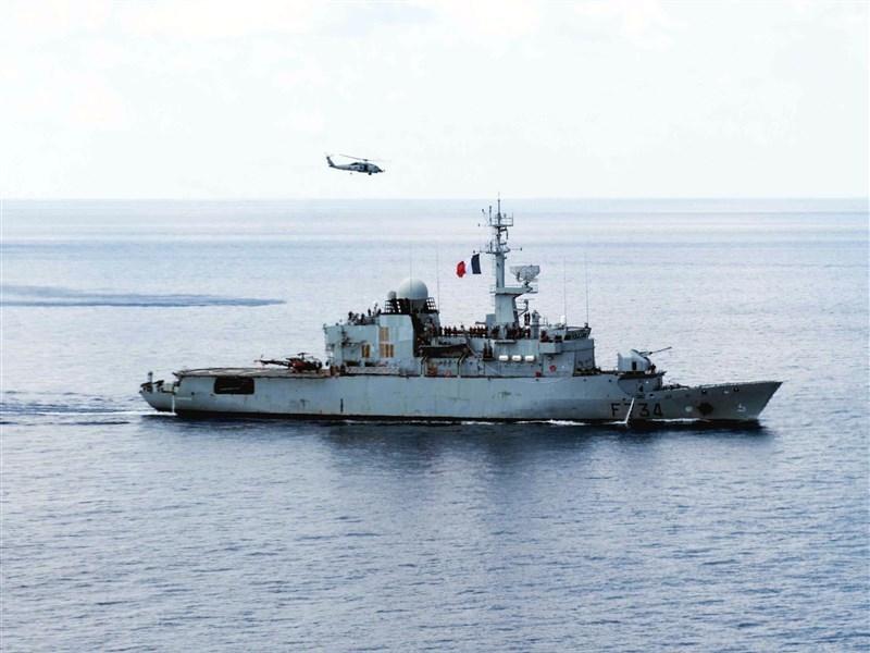 美國官員透露,法國巡防艦葡月號4月6日通過台灣海峽。(圖取自維基共享資源,版權屬公有領域)