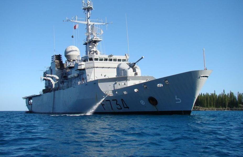 美國官員透露,法國巡防艦葡月號6日通過台灣海峽。(圖取自法國國防部網頁www.defense.gouv.fr)
