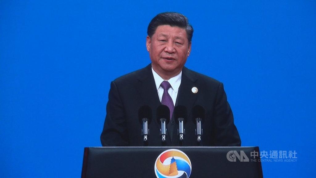 中國國家主席習近平26日在「一帶一路」論壇開幕式上說,共建「一帶一路」要堅持開放、綠色、廉潔理念,堅持一切合作都「在陽光下運作」,共同「以零容忍態度打擊腐敗」。中央社記者邱國強北京攝 108年4月26日