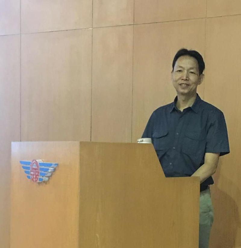 交通部26日表示,中華大學運輸科技與物流管理學系副教授林祥生將接任桃園國際機場股份有限公司總經理一職。(圖取自林祥生臉書facebook.com)