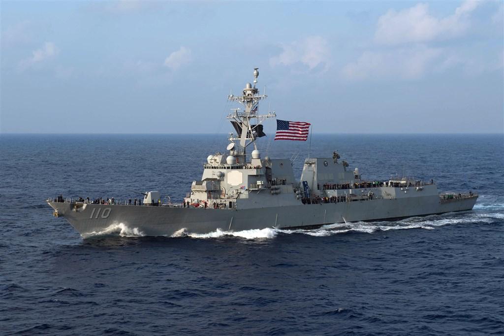 美國軍方28日表示,已派兩艘海軍軍艦航經台灣海峽。圖為勞倫斯號。(圖取自美國太平洋艦隊網頁www.cpf.navy.mil)