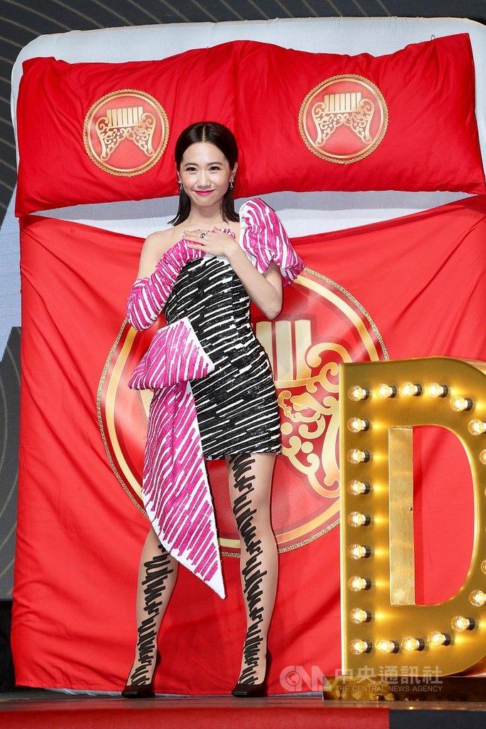 「第30屆金曲獎頒獎典禮」典禮和星光大道主持人公布記者會29日在台北舉行,將由藝人Lulu(黃路梓茵)擔任典禮主持人。中央社記者吳翊寧攝 108年4月29日