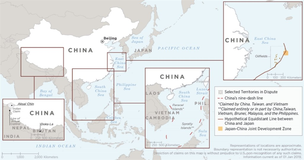 美國國防部預料中國將在全球各地增加軍事基地,以保護中國在深具野心「一帶一路」全球基礎建設計畫中的投資項目。(圖取自美國國防部網頁defense.gov)