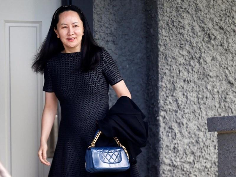 加拿大法院8日再針對華為財務長孟晚舟(圖)引渡案開庭,控辯雙方舌戰後敲定9月23日舉行訊息披露申請聽證會。(路透社提供)