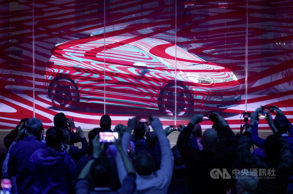 福斯新一代的平民電動車ID.3,預計9月在法蘭克福車展(IAA)發表。(福斯提供)中央社記者林育立柏林傳真  108年5月15日