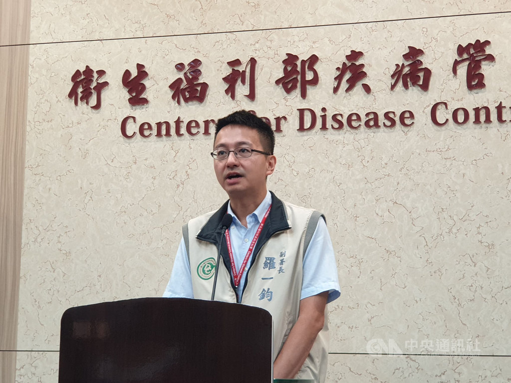 香港有鼠傳人E型肝炎疫情,衛福部疾管署副署長羅一鈞16日表示,全球人類鼠傳人E型肝炎病例共計6例,香港就占5例,台灣目前沒有病例,民眾不用恐慌。中央社記者陳偉婷攝  108年5月16日