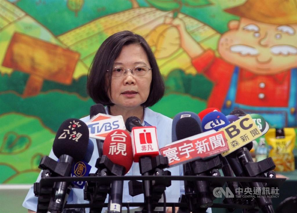 立法院院會17日下午3時許三讀通過政院版同婚專法,總統蔡英文稍早在台南得知表決進度後表示,今天是台灣值得驕傲的一天,讓世界看到這塊土地的良善和價值。中央社記者楊思瑞攝 108年5月17日