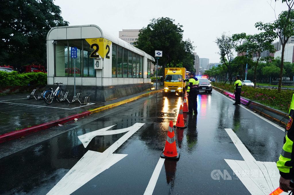 台北市警方統計,北市近3年白天酒駕違規逐年攀升,違規以聯外道路居多的大同區件數最多,將利用各項勤務加強稽查。中央社記者劉建邦攝 108年5月17日