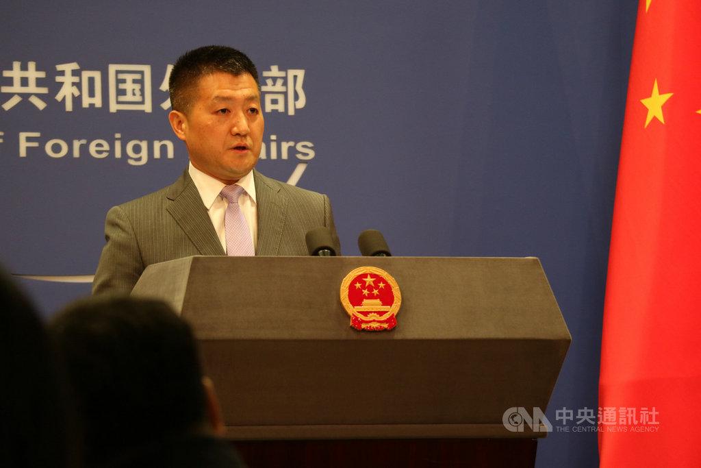 被問及中方是否計畫和索羅門建交時,中國外交部發言人陸慷21日回應,不光是索羅門,中國有意願和世界上所有國家在「一個中國」原則基礎上發展友好關係。中央社記者陳家倫北京攝 108年5月21日
