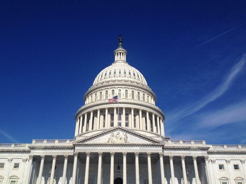 美國聯邦參議院外交委員會22日一致通過支持台灣參與世界衛生組織法案,協助台灣重獲世衛組織觀察員身分。圖為美國國會大廈。(圖取自facebook.com/USCapitol)