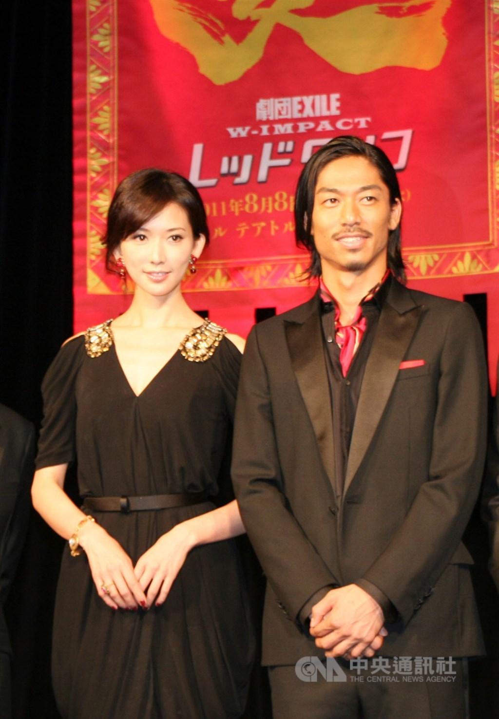林志玲6日與日本男星AKIRA閃婚,兩人結緣於2011年舞台劇「赤壁」。(中央社檔案照片)