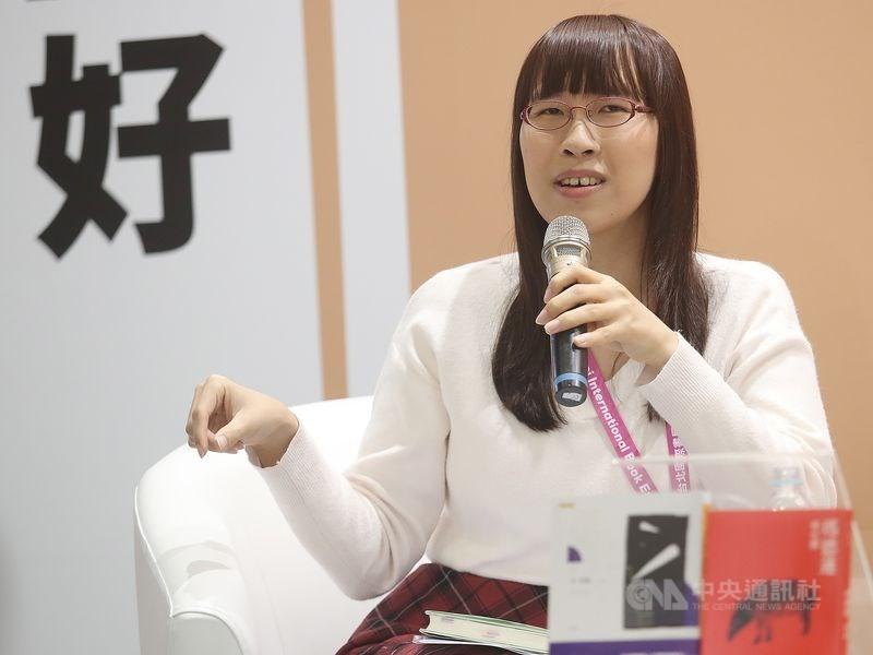 台灣作家李琴峰以作品「倒數五秒月牙」入圍第161屆日本芥川獎,可惜與獎擦身而過。(中央社檔案照片)
