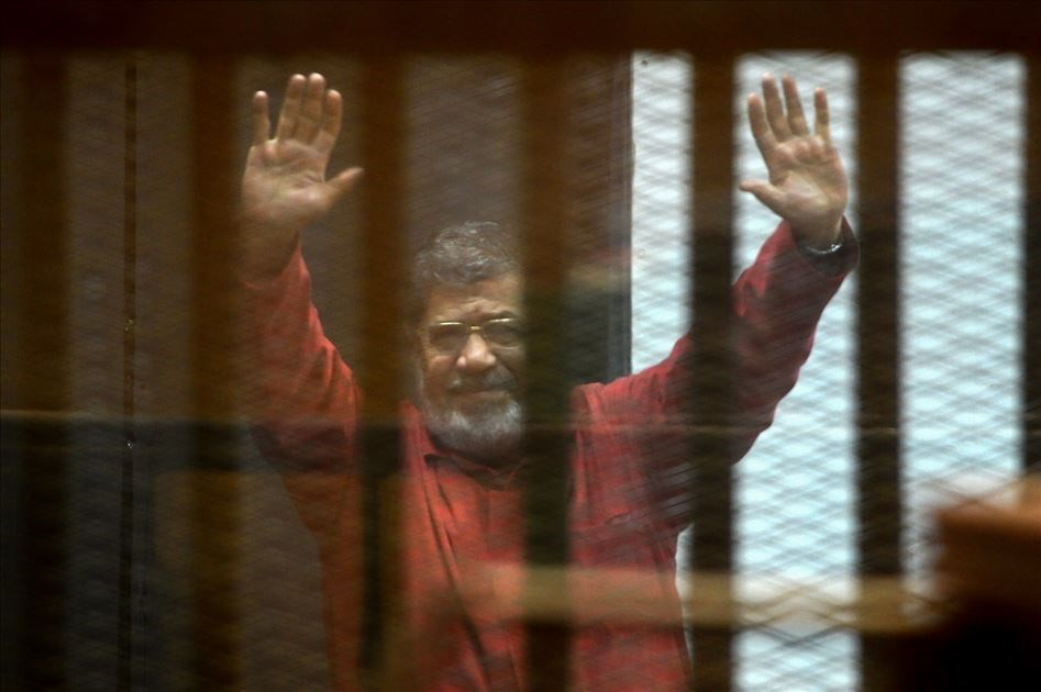 埃及前總統穆希17日在法庭上昏厥,送醫不治,享壽67歲。(檔案照片/安納杜魯新聞社提供)
