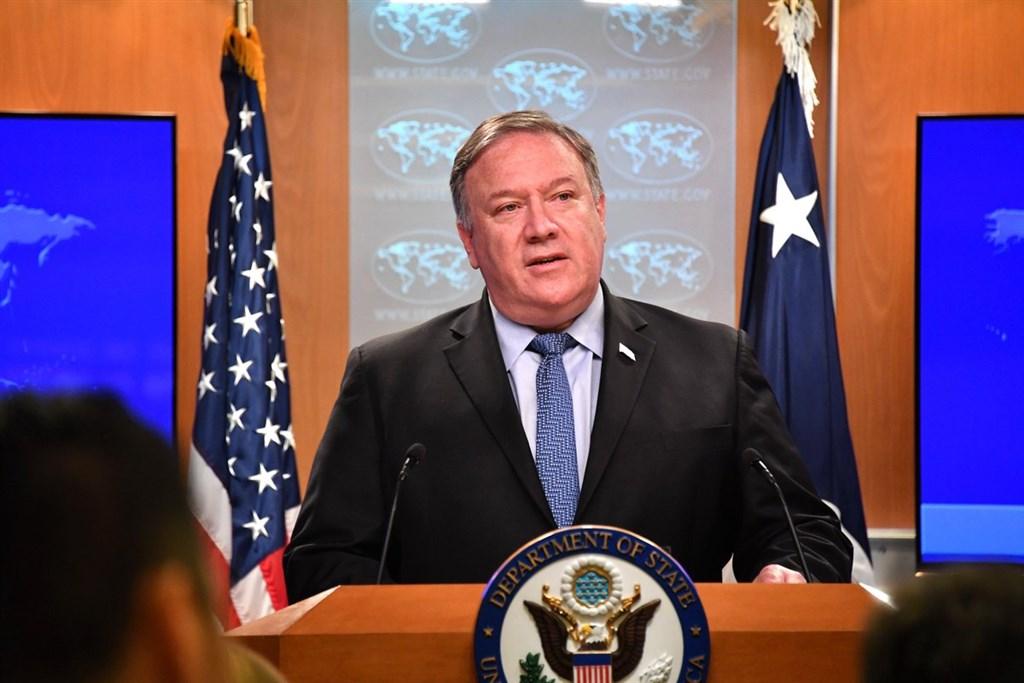 美國國務卿蓬佩奧21日主持2018年國際宗教自由報告發布記者會,點名中國、伊朗、俄羅斯、緬甸等國持續侵犯宗教自由。(圖取自twitter.com/secpompeo)