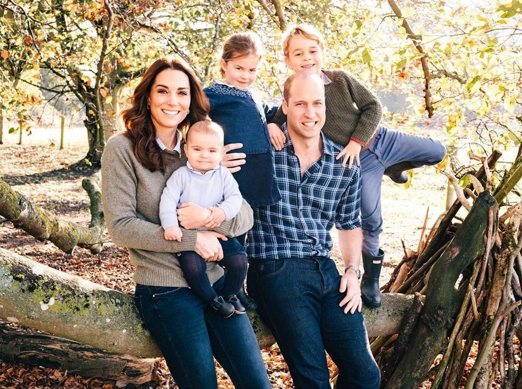 英國威廉王子(前右)表示,如果他的子女當中有人是同性戀者,他會完全支持。(圖取自IG網頁instagram.com/kensingtonroyal)