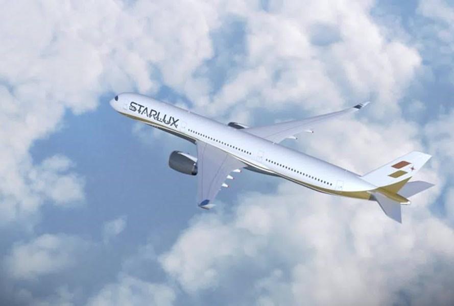 民航局5日證實,已核定星宇航空從桃園或台中起飛到日本、泰國等13條定期航線或定期包機航線。(圖取自facebook.com/starluxairlines)