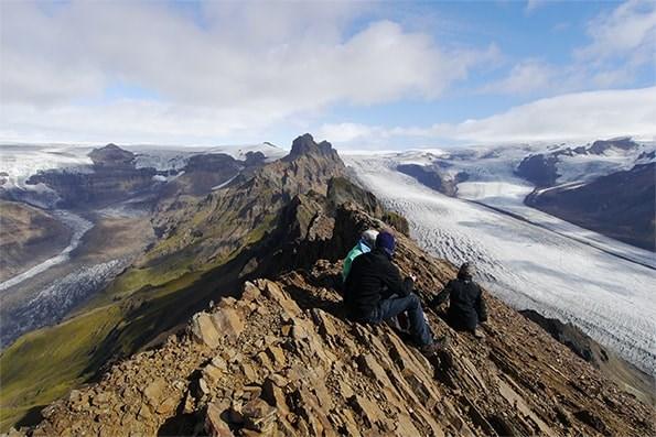 聯合國教育、科學及文化組織5日宣布,將冰島瓦特納冰川國家公園列入世界遺產名錄。(圖取自瓦特納冰川國家公園網頁)