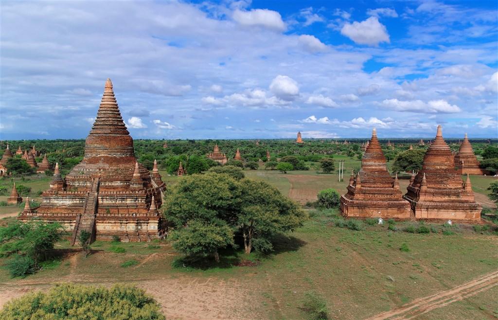 聯合國教育、科學及文化組織6日將緬甸古城蒲甘列入世界遺產名錄。(圖取自維基共享資源;作者Jakub Hałun,CC BY-SA 4.0)