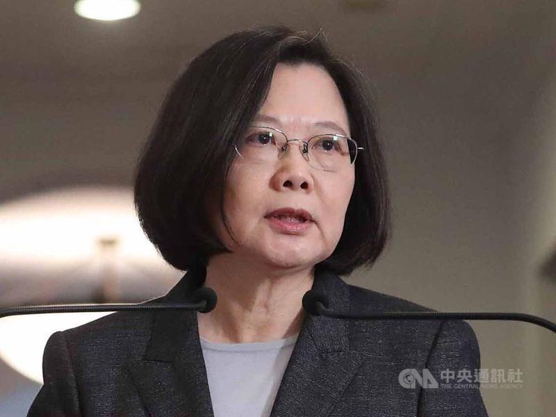 美國國務院9日宣布批准對台軍售案。總統蔡英文表達感謝並說,將提升台灣國防實力,讓國軍擁有更強戰力。(中央社檔案照片)