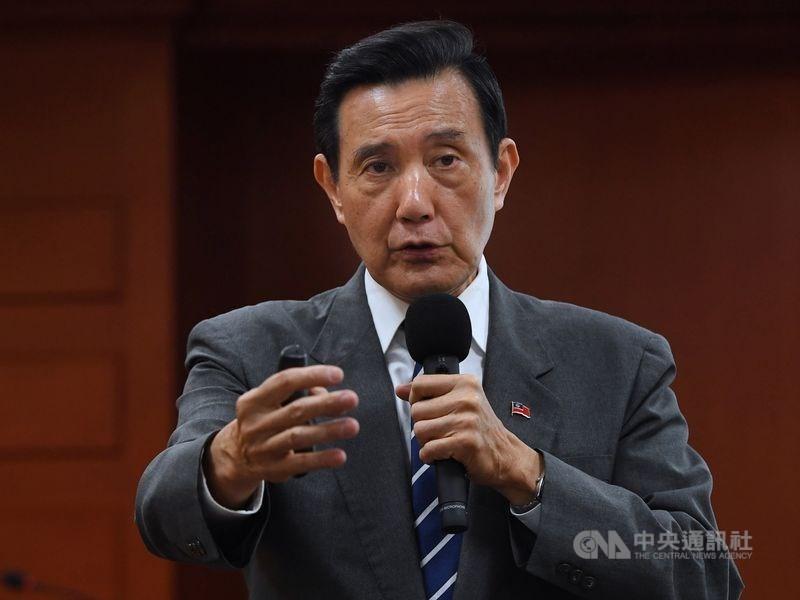 台灣高等法院更一審12日審結前總統馬英九被控洩密案,馬英九無罪確定。(中央社檔案照片)