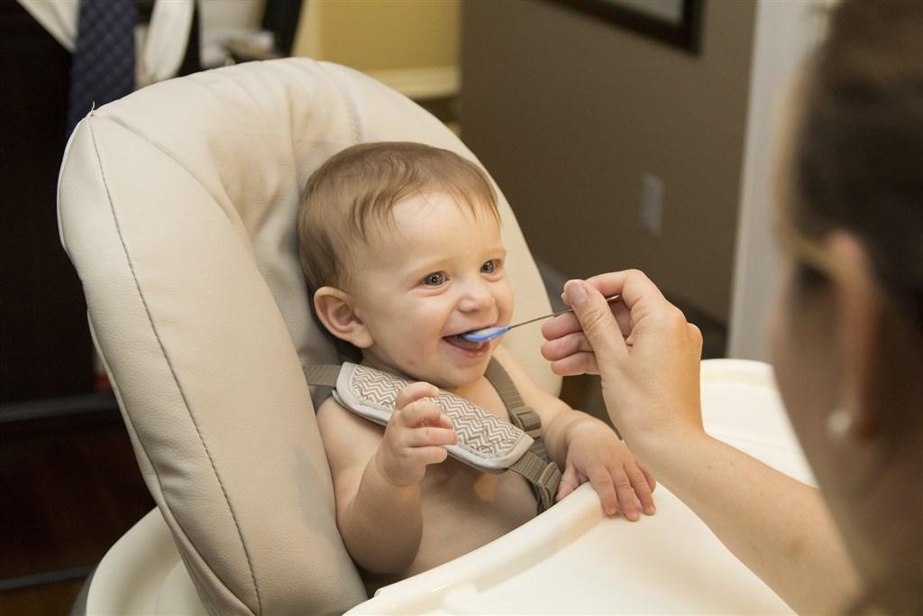 世界衛生組織15日公布最新研究顯示,許多廠商銷售6個月以下的嬰幼兒副食產品中不少含糖量過高,可能影響味覺發育。(示意圖/圖取自Pixabay圖庫)