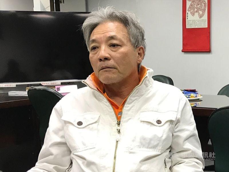2018年9月下旬來台的中國大陸異議人士劉興聯,滯台逾290天後終於獲准前往加拿大,20日深夜飛往溫哥華。(中央社檔案照片)