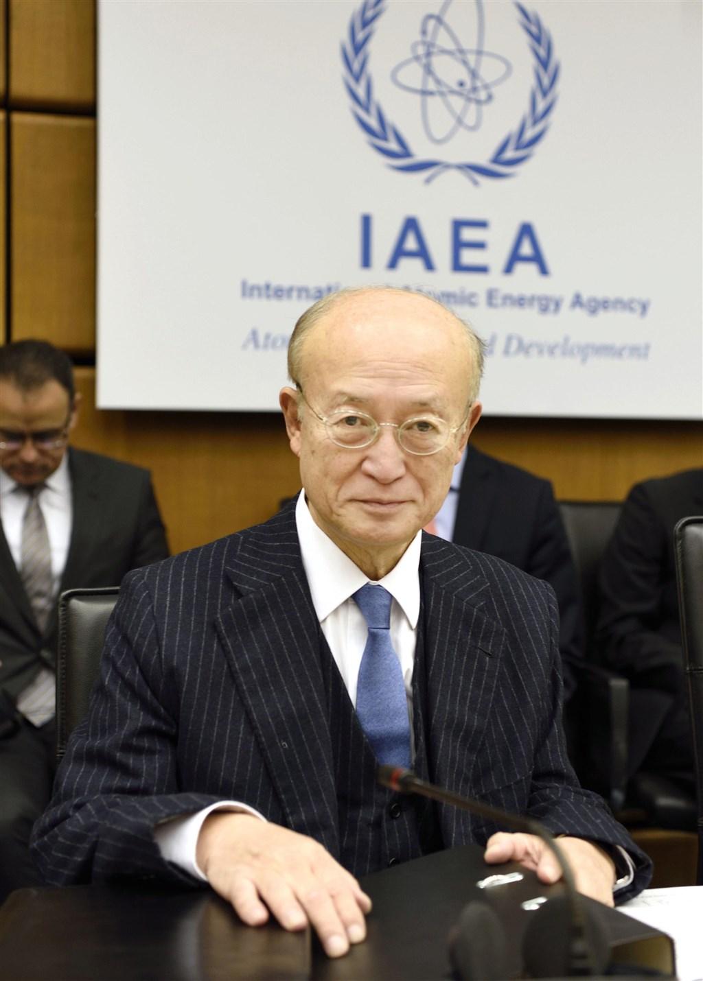 國際原子能總署22日表示,因病準備提早卸任的署長天野之彌已經逝世,享壽72歲。(共同社提供)
