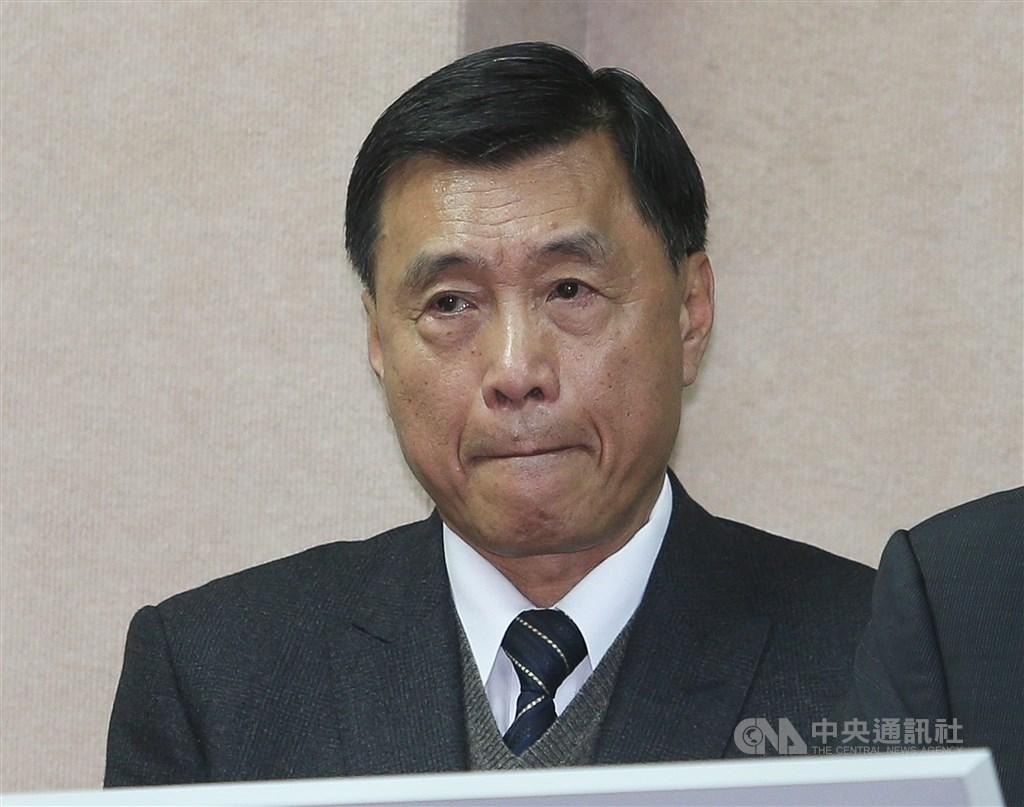 國安局長彭勝竹(圖)22日晚間為局內官員涉利用總統出訪機會走私大量菸品請辭獲准。(中央社檔案照片)