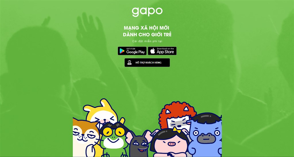 越南本土社群媒體應用程式Gapo被稱為越南版的臉書,於22日推出。(圖取自Gapo網頁gapo.vn)