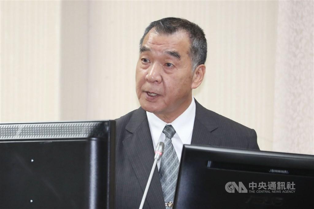 總統府24日下午召開記者會,宣布由邱國正接任國安局長。(中央社檔案照片)